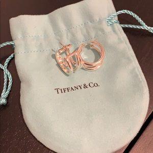 Brand New Sterling Silver Hoop Earrings
